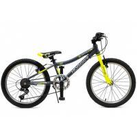 Велосипед HOGGER 'QUANTUM' V 7ск, алюм. серо-серебристый