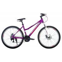 Велосипед HARTMAN Sintra Disk 17'' 21ск. бело-розовый фиолетовый мат.