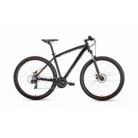 Велосипед FORWARD NEXT 2.0 disc 21ск, 17'' черный мат.