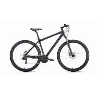 Велосипед FORWARD SPORTING 2.0 disc 21ск, 17'' черный