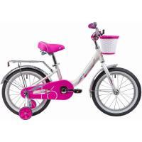 Велосипед NOVATRACK 16'', ANCONA, белый