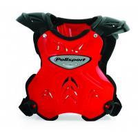 Защита груди и спины Polisport TITAN07 red/black