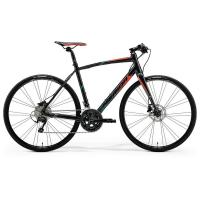 Велосипед Merida Speeder 90 L(56cm) '19 Black/Red/Green (700C)