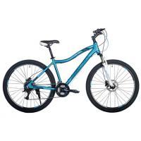 Велосипед HARTMAN Ultra Pro Disk 15 21ск. алюм, голубой-белый мат