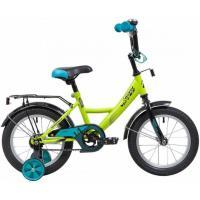 Велосипед NOVATRACK 14'',VECTOR,GN20, салатовый