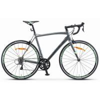 Велосипед STELS XT300 21,5 серый/зеленый артV010