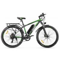 Велогибрид Eltreco ХТ850 new черно-зеленый-2143