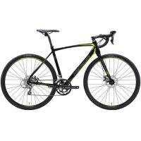 Велосипед Merida CycloCross 90 56cmL '19 MattBlack/DarkSilver/Yellow (700C)