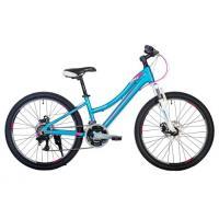 Велосипед HARTMAN Diora Pro Disk 12,5 18ск.алюм, голубой/розовый(2021)