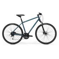 Велосипед Merida Crossway 100 47cm S '21 TealBlue/SilverBlue/Lime (700C)