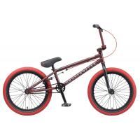 Велосипед TechTeam Grasshoper (2022) сталь, черно-красный