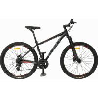 Велосипед Welt Ridge 1.0 D 27 2020 matt black/orange/green L/20'