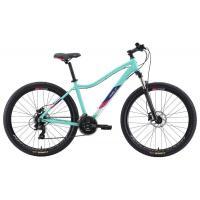 Велосипед Welt Edelweiss 1.0 HD 27 2020 matt mint green/blue M/17'