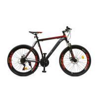 Велосипед HOGGER 'PHOENIX' MD 17'' 21ск, сталь красно-серо-черный