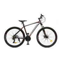 Велосипед HOGGER 'MANAVA' МD 17'' 21ск, алюм черно-красный