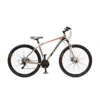 Велосипед HOGGER 'OLIMPICO' Disk 19'' 21ск, алюм серебр-красный