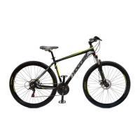 Велосипед HOGGER 'OLIMPICO' Disk 17'' 21ск, алюм черно-желтый