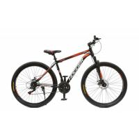 Велосипед HOGGER 'POINTER' МD 19'' 21ск, сталь черно-красный