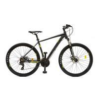 Велосипед HOGGER 'DIMAX' Disk 19'' 21ск, алюм черно-желтый