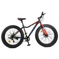 Велосипед Rook FAT Bike FS260D, черный/красный FS260D-BK/RD