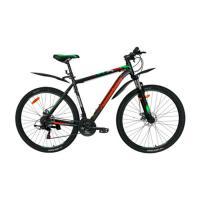 Велосипед Nameless J9500D 21' 21ск, черный/оранжевый (2021)