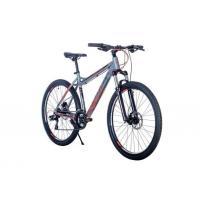 Велосипед HARTMAN Fantom Pro HIDRO Dick 17'' 21ск. алюм, серый красный мат