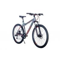 Велосипед HARTMAN Fantom Pro HIDRO Dick 17'' 21ск. алюм, черный красный мат