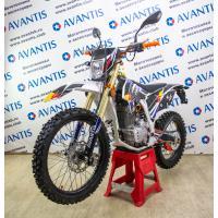 Мотоцикл Avantis A2 Lux (172FMM, возд.охл.) белый/синий/желтый