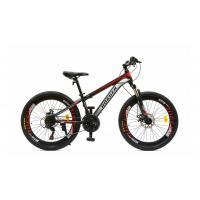 Велосипед HOGGER 'HAUZER' MD 21ск, сталь черно-красный