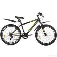 Велосипед Faraon MD2040, 6ск черно-зеленый
