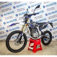 Мотоцикл Avantis A2 Lux (172FMM, возд.охл.) ПТС черно/синий