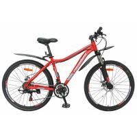 Велосипед Nameless S6400DW 21ск, красный/серый