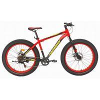 Велосипед Nameless J6800DF FAT 18', красный/желтый