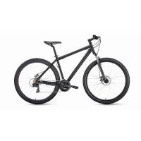Велосипед FORWARD SPORTING 2.0 disc 21ск, 17'' серый/черный