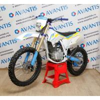 Мотоцикл Avantis A2 250 Basic (172FMM, возд.охл.) бел/син/желт