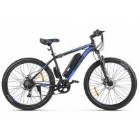 Велогибрид Eltreco ХТ600 D черно-синий-2384