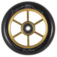 Колесо д/самоката X-Treme 110мм форма 6RT (для самоката DRACO) gold