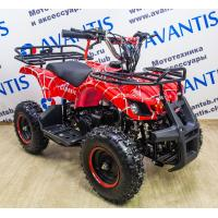 ATV Classic Mini (Classic 049сс 2Т)(ручной стартер) красный(паук)