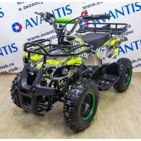 ATV Classic Mini (049сс 2Т) (электростартер) сафари (зеленожелтый камуфляж)