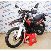 Мотоцикл Avantis МТ250 (172FMM, возд.охл.) ПТС Красный