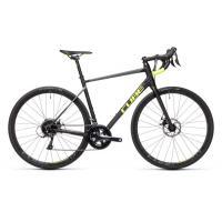 Велосипед CUBE ATTAIN PRO black'n'flashyellow 53см 21'