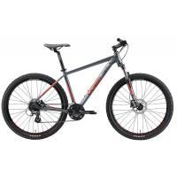 Велосипед Welt Rockfall 2.0 SST 27 2021 Matt grey/red M