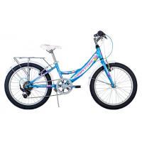 Велосипед HARTMAN Alba V-br, 11 6ск, сталь, голуб/розов/белый(2021)