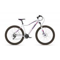 Велосипед Stark Viva 27.2 D белый/фиолетовый 18'' (2021)