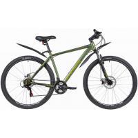 Велосипед Stinger Caiman D 18 зеленый (2021)