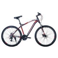 Велосипед HARTMAN Aeromax Pro Disk 19 21ск. алюм, черн/красн/серый(2021)