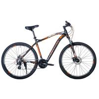 Велосипед HARTMAN Aeromax Pro Disk 19 21ск. алюм, черн/оранж/серый(2021)