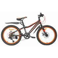 Велосипед Nameless S2200D 11', черный/оранжевый (2021)