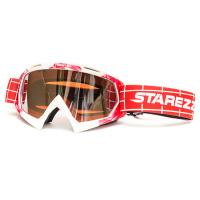 Очки Кроссовые STAREZZI GOGGLES MX  RED WHITE 157-806