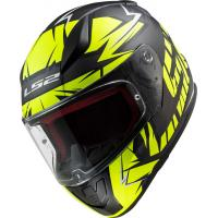 Шлем (интеграл) FF353 RAPID CROMO matt black HI-VIS yellow S